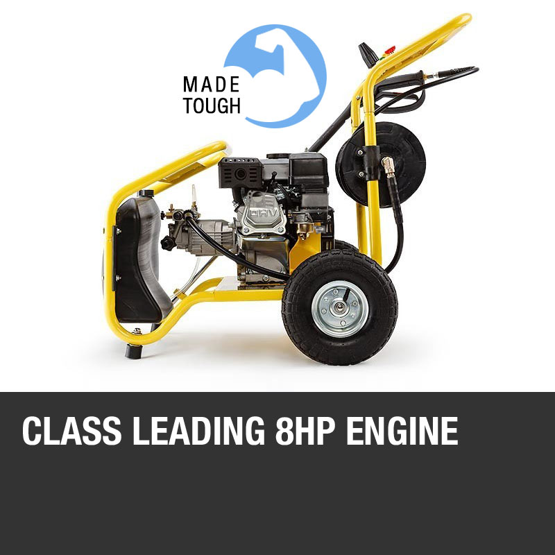 Petrol Pressure Washer 8 0hp 3950psi Awesome Power Tx650