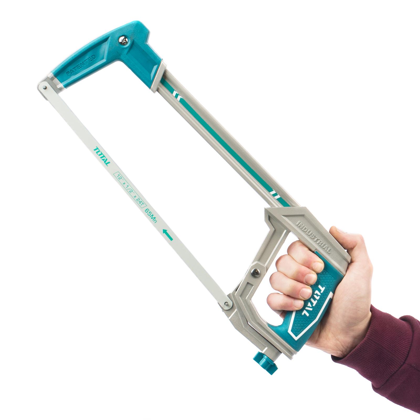 Hand Adjustable Metal Blade DIY Total Tools Metal Hacksaw 400mm Heavy Duty
